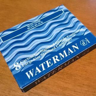 Waterman Fountain Pen Cartridges 8 Pack – Blue Black