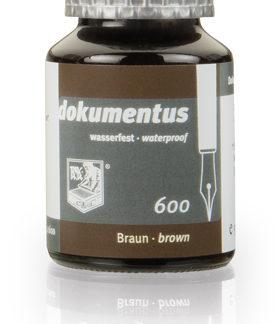 Rohrer & Klingner dokumentus Waterproof Ink – Brown