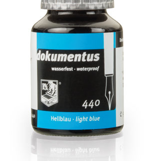 Rohrer & Klingner dokumentus Waterproof Ink – Light Blue