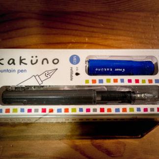 Pilot Kakuno Fountain Pen – Blue