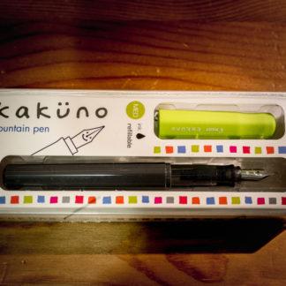 Pilot Kakuno Fountain Pen – Lime Green