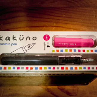 Pilot Kakuno Fountain Pen – Pink