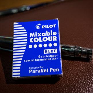 Pilot Parallel Pen Ink Cartridges (Set of 6) – Blue