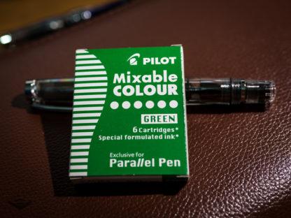Pilot Parallel Pen Ink Cartridges (Set of 6) – Green