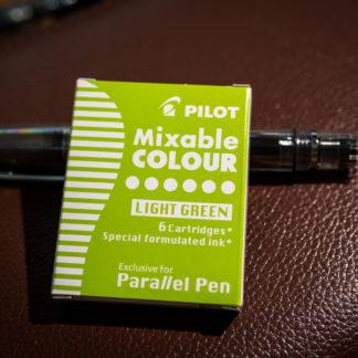 Pilot Parallel Pen Ink Cartridges (Set of 6) – Light Green