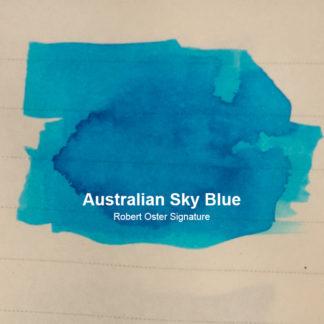 Robert Oster Signature Ink – Australian Sky Blue