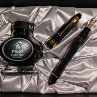 Pilot Custom 823 Black Fountain Pen