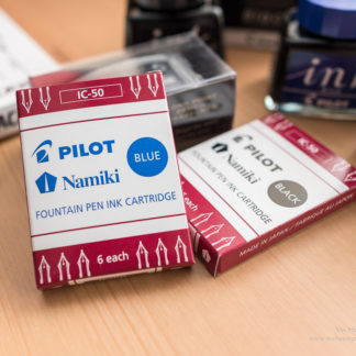 Pilot Fountain Pen Ink Cartridges – Blue