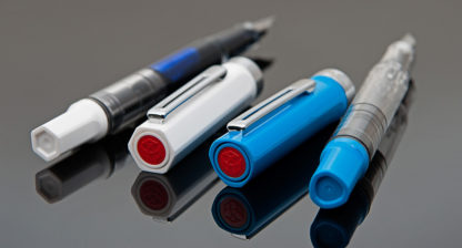 TWSBI ECO-T Blue Fountain Pen