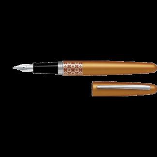 Pilot Metropolitan Fountain Pen – Orange Flower