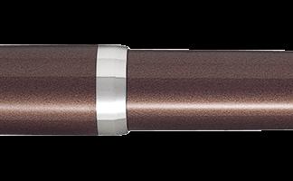 Pilot Metal Falcon Fountain Pen – Brown