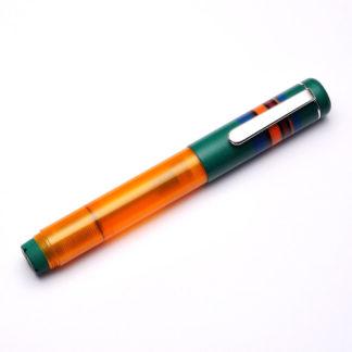 Opus 88 Fantasia Green Fountain Pen