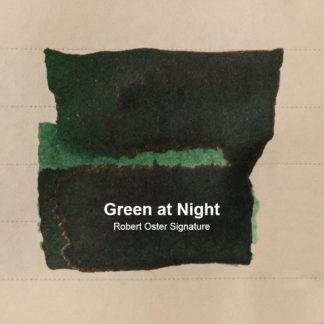 Robert Oster Signature Ink – Green At Night