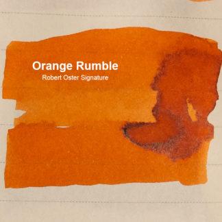 Robert Oster Signature Ink – Orange Rumble