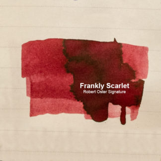 Robert Oster Signature Ink – Frankly Scarlet