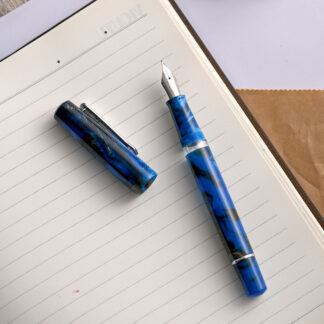 Narwhal Schuylkill Marlin Blue Fountain Pen