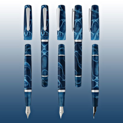 Narwhal Poseidon Blue Fountain Pen