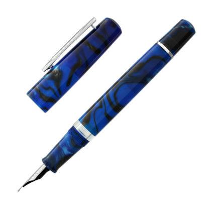 Narwhal Schuylkill Marlin Blue Fountain Pen