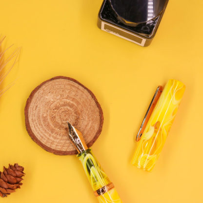 Narwhal Yellow Tang Fountain Pen