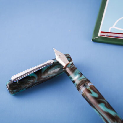 Narwhal Schuylkill Chromis Teal Fountain Pen