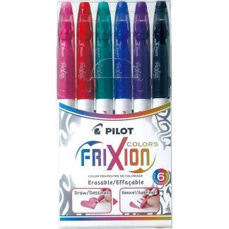 Pilot Frixion Colours Pen (Set of 6) – Assorted