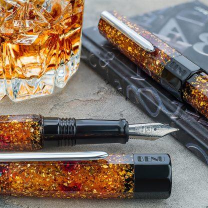 Benu Euphoria Fountain Pen – Bourbon