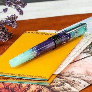 Benu Euphoria Fountain Pen – Ocean Breeze