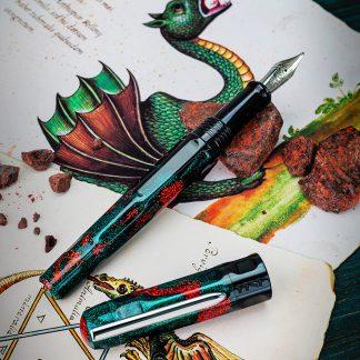 Benu Talisman Fountain Pen – Dragon's Blood